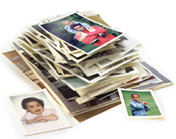 Stack of Pictures for Scanning